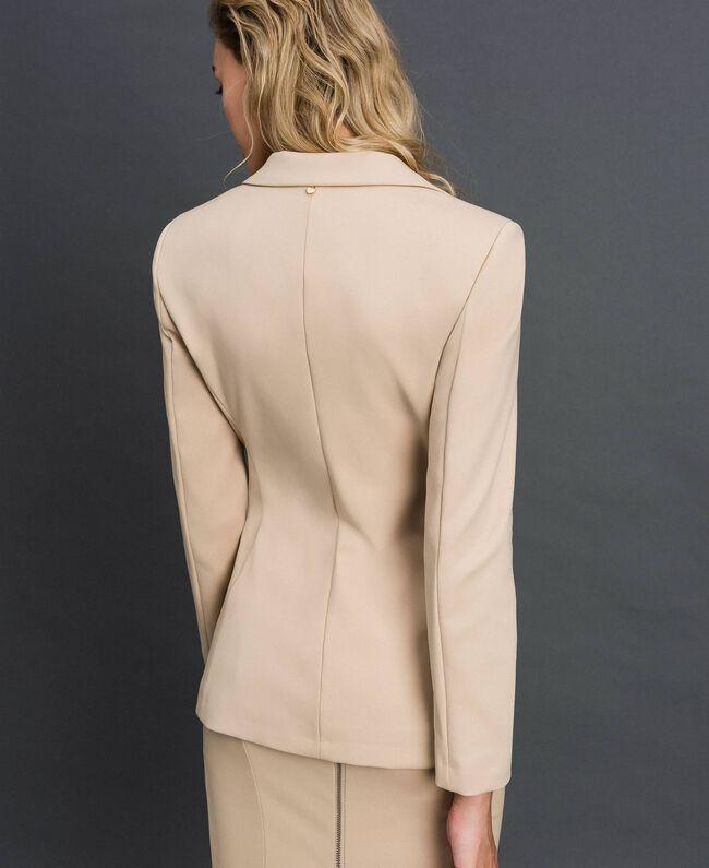 Blazer with pockets Cream Woman 999TT2010-03