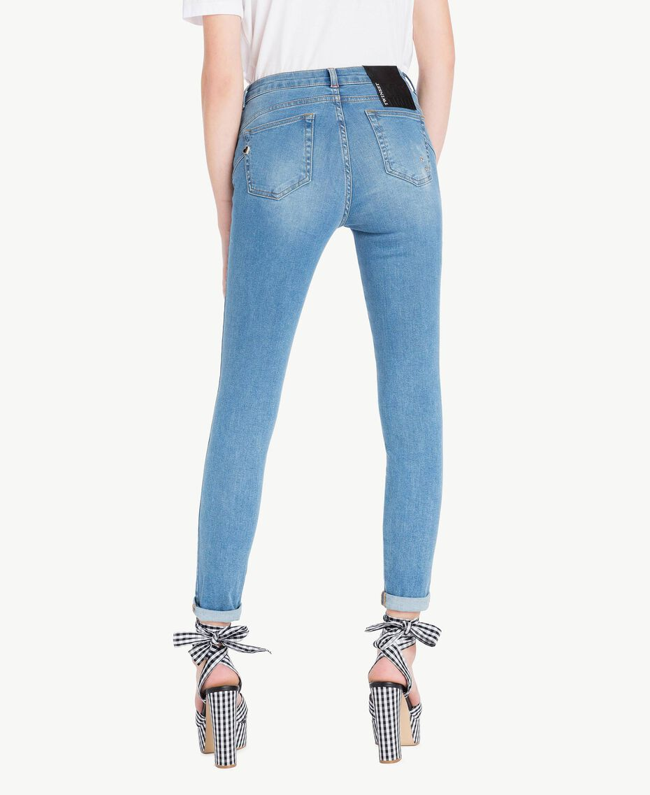 Skinny jeans Denim Blue Woman JS82WE-03