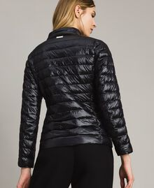 Quilted puffer jacket Black Woman 191LL24CC-03