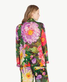 Printed shirt Summer Garden Print Woman TS8243-03