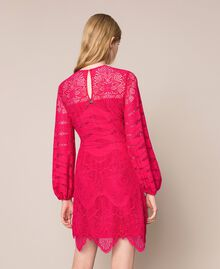 Robe en dentelle macramé Griotte Femme 201TP2031-04