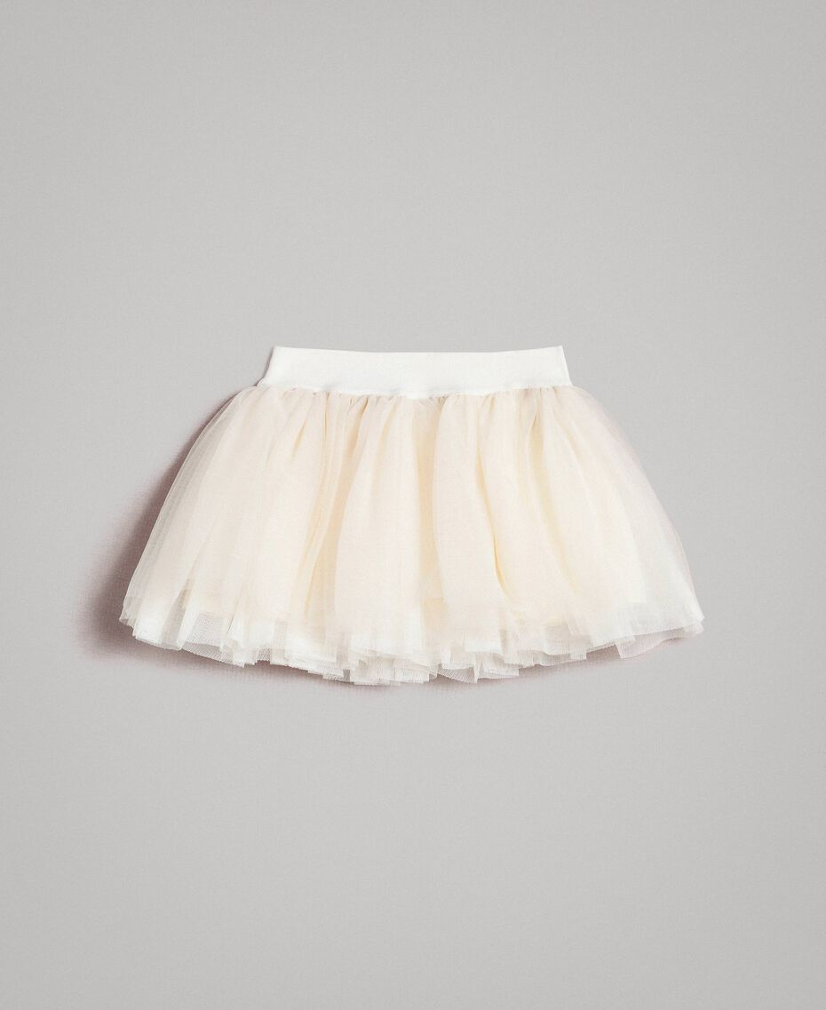 Tulle skirt Pale Cream Child 191GB2700-0S