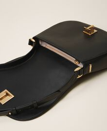 Leather shoulder bag Black Woman 202TD8041-05