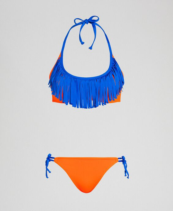 Bikini with fringes