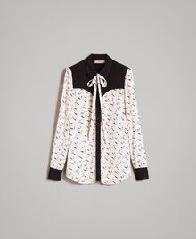 Flamingo print shirt Flamingo Print Woman 191TP2762-0S