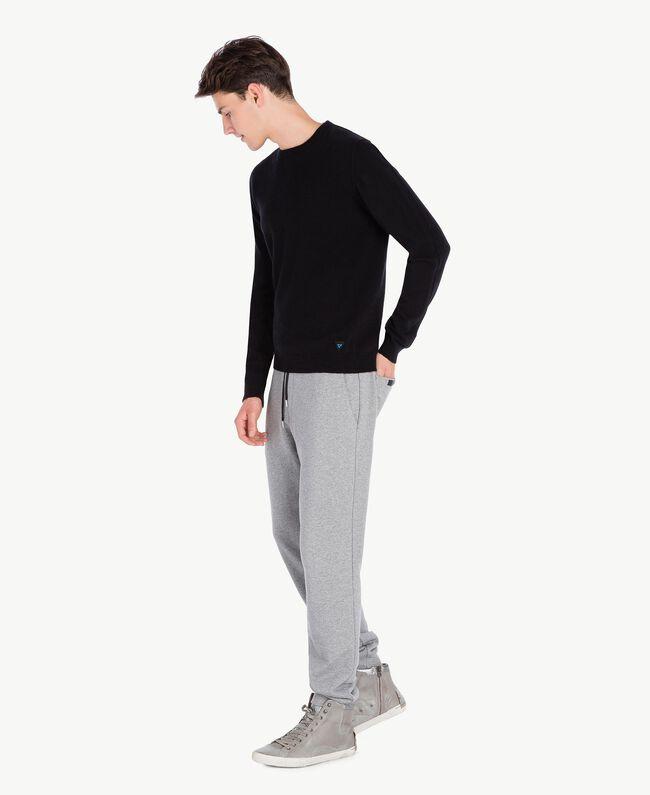 Jogging trousers Melange Grey Male UA72A3-01