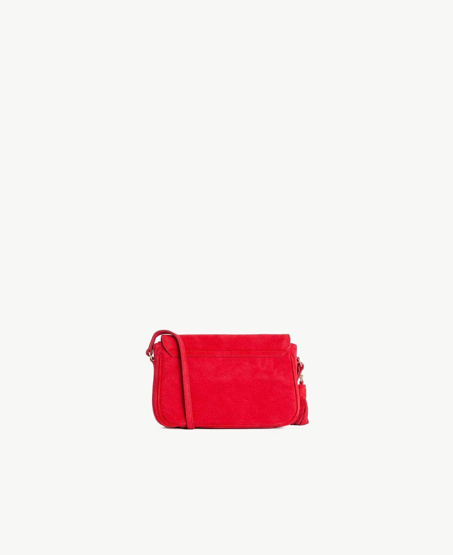 TWINSET Umhängetasche mit Logo ruby Frau OS8TEA-03
