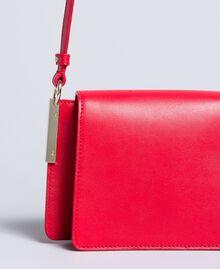 Bolso bandolera de piel Rojo Amapola Mujer AA8PGB-02
