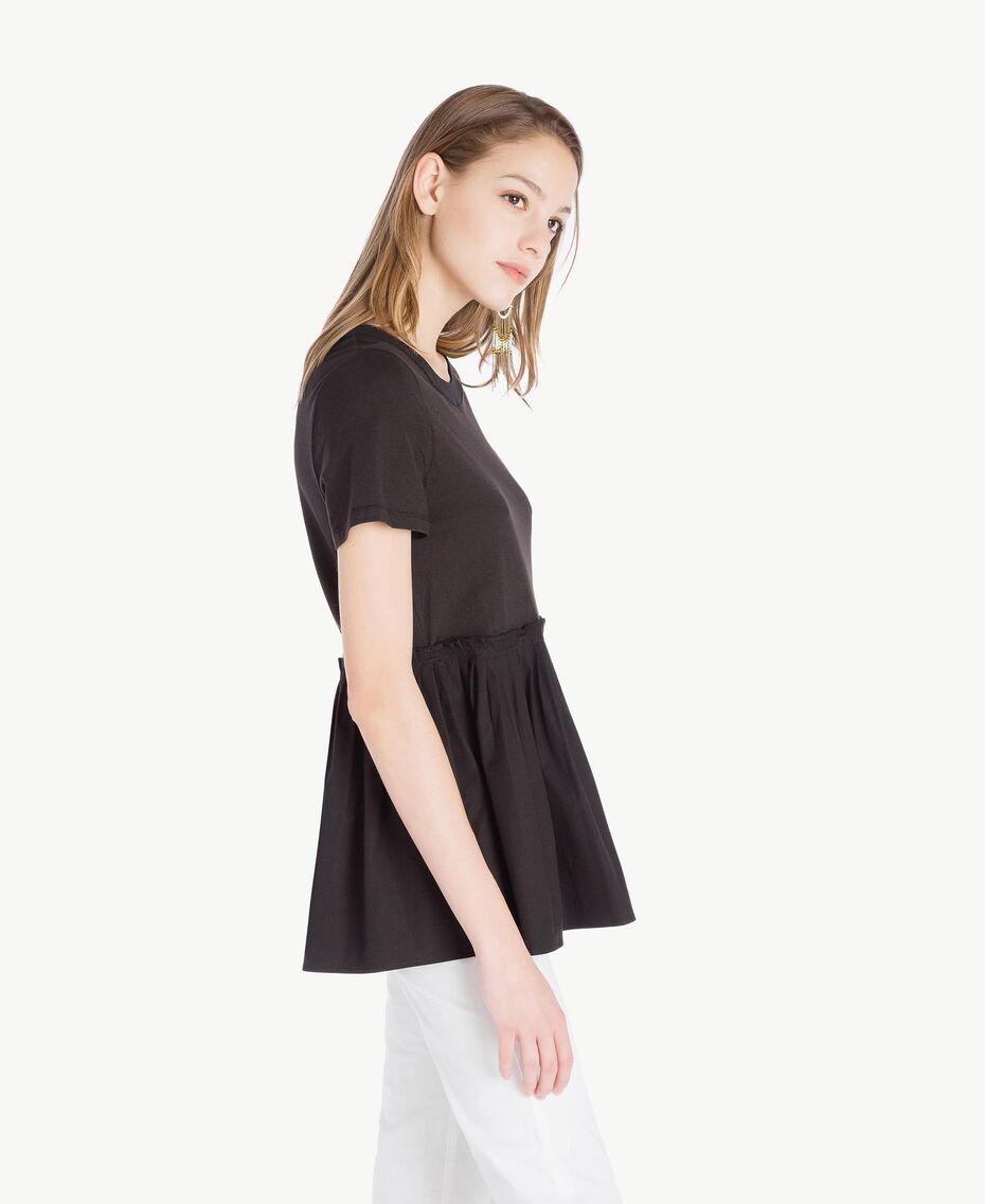 Jersey t-shirt Black Woman TS821J-02