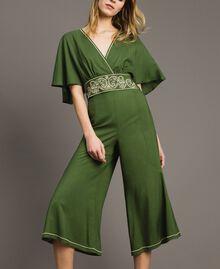 Pantalon court Vert Amazone Femme 191LM2REE-0T