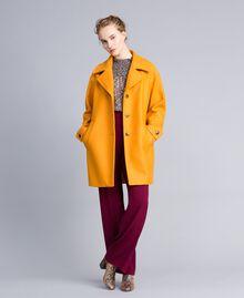 Manteau oversize en drap avec col Brandy Femme PA826N-05
