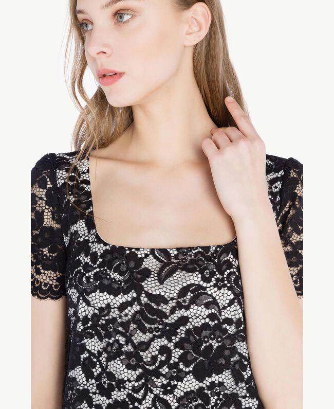 Robe dentelle Noir Femme TS828P-04