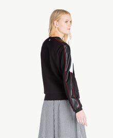 Stars sweatshirt Multicolour Black / Raspberry Red / Optical White Woman JS82FC-03