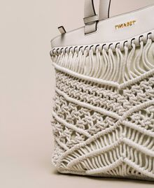 Crochet shopper Antique White Woman 201TO8130-03