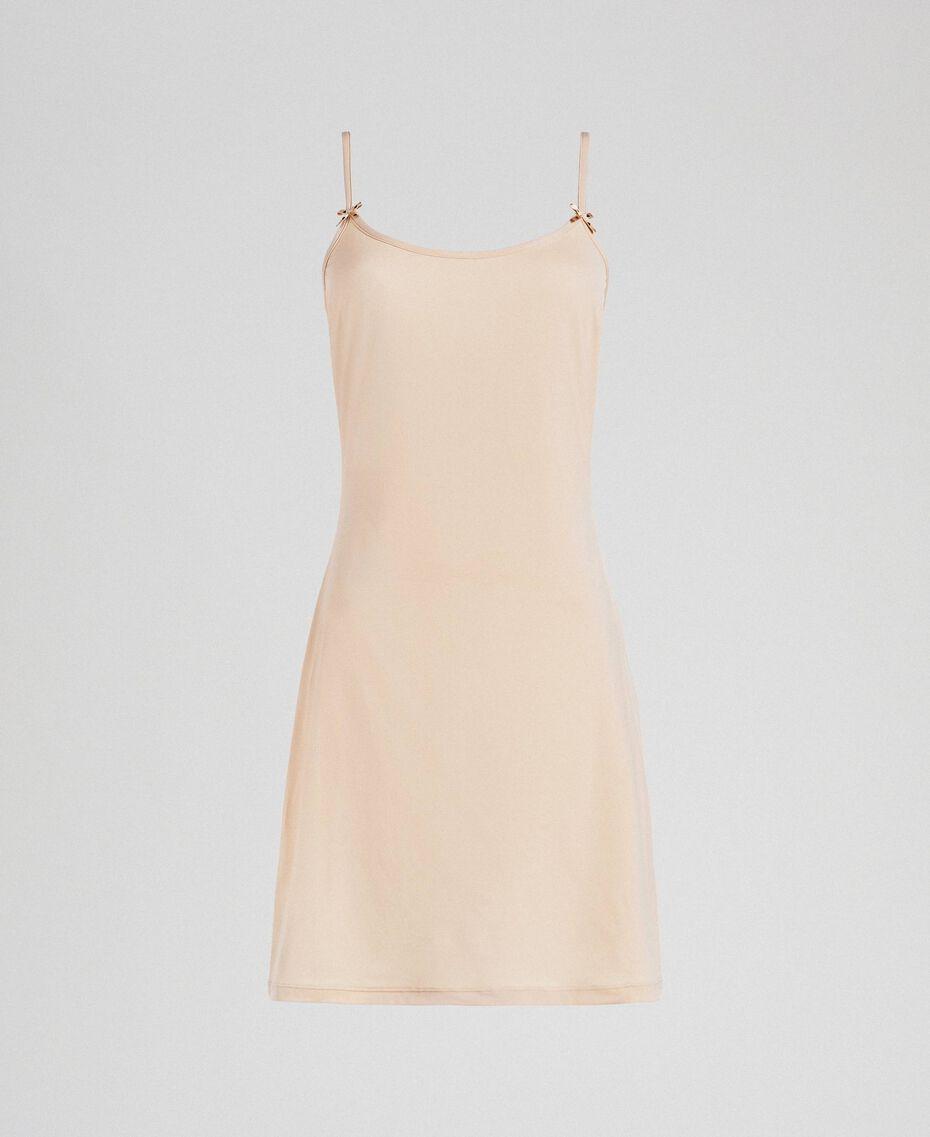 Unterkleid mit Trägern Rosa Skin Frau LCNNAA-0S