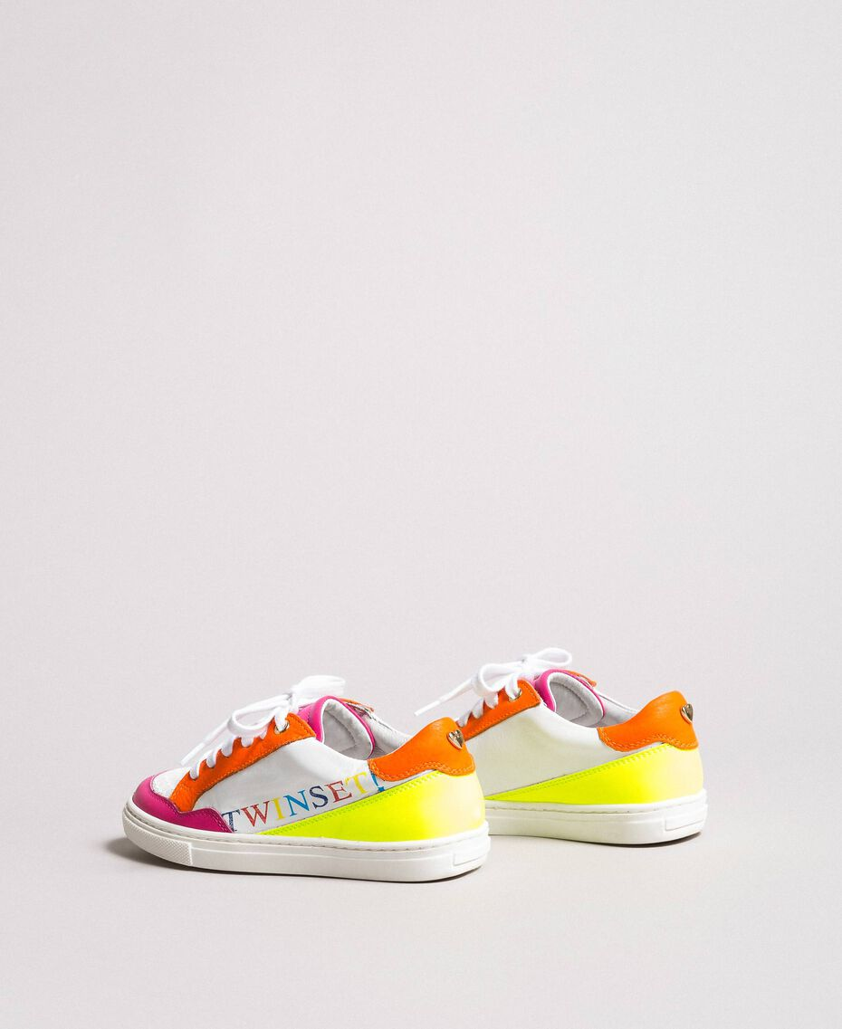 """Colour block sneakers """"Crystal Pink"""" Child 191GCJ032-03"""