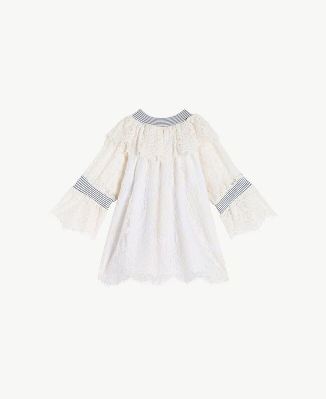 Lace blouse Pale Cream Child GS82UR-01