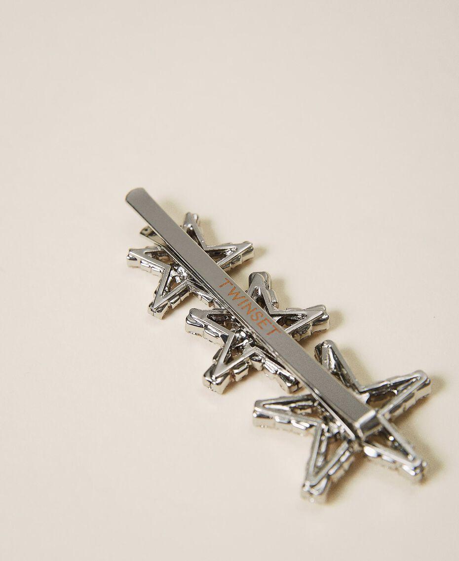 Hair pin with rhinestone stars Crystal Woman 202TA430L-02