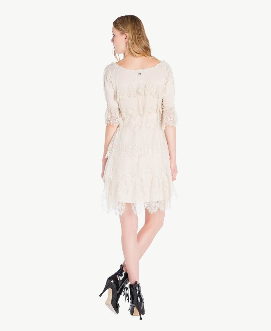 "Lace dress ""Calla"" White Woman PS826A-03"