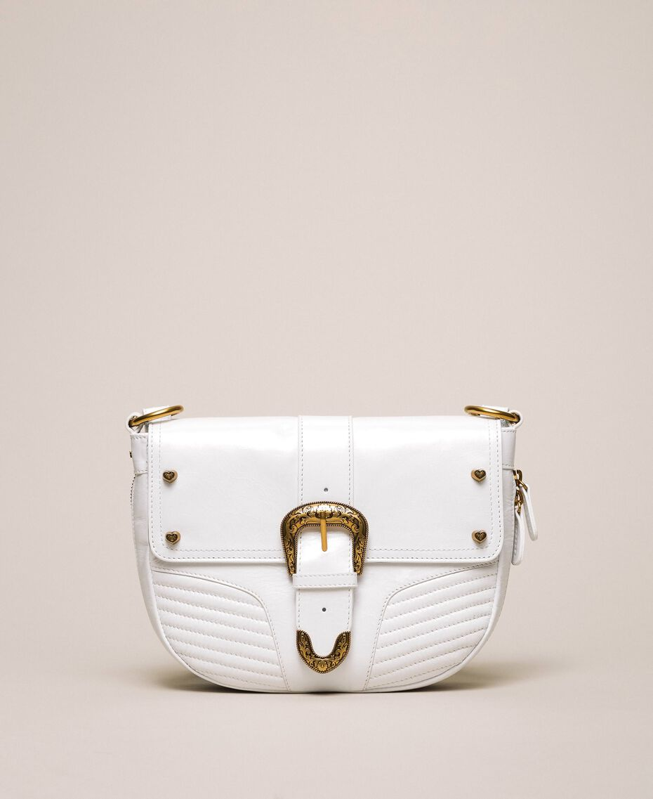 Large Rebel shoulder bag White Snow Woman 201TA723J-01