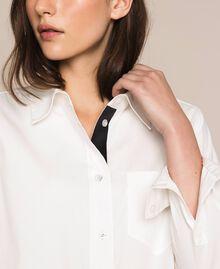 Поплиновая рубашка Blue Sky женщина 201MP2183-05