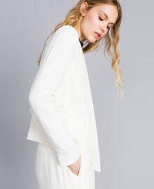 Envers satin jacket White Snow Woman TA824G-02
