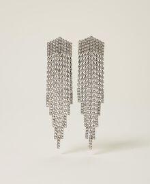 Boucles d'oreilles «Zircon» avec franges strassées Cristal Femme 212AA4120-01