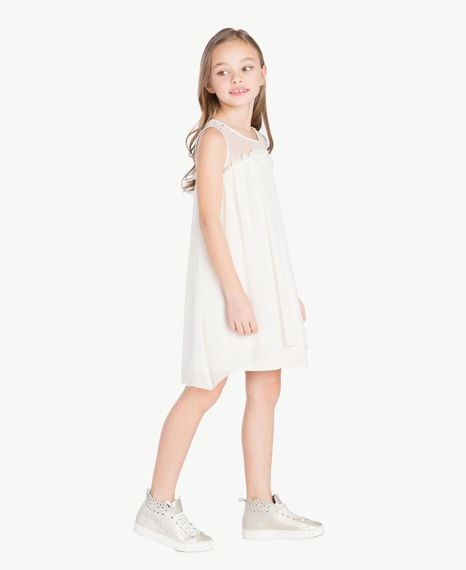 Robe broderie Chantilly Enfant GS82B1-03