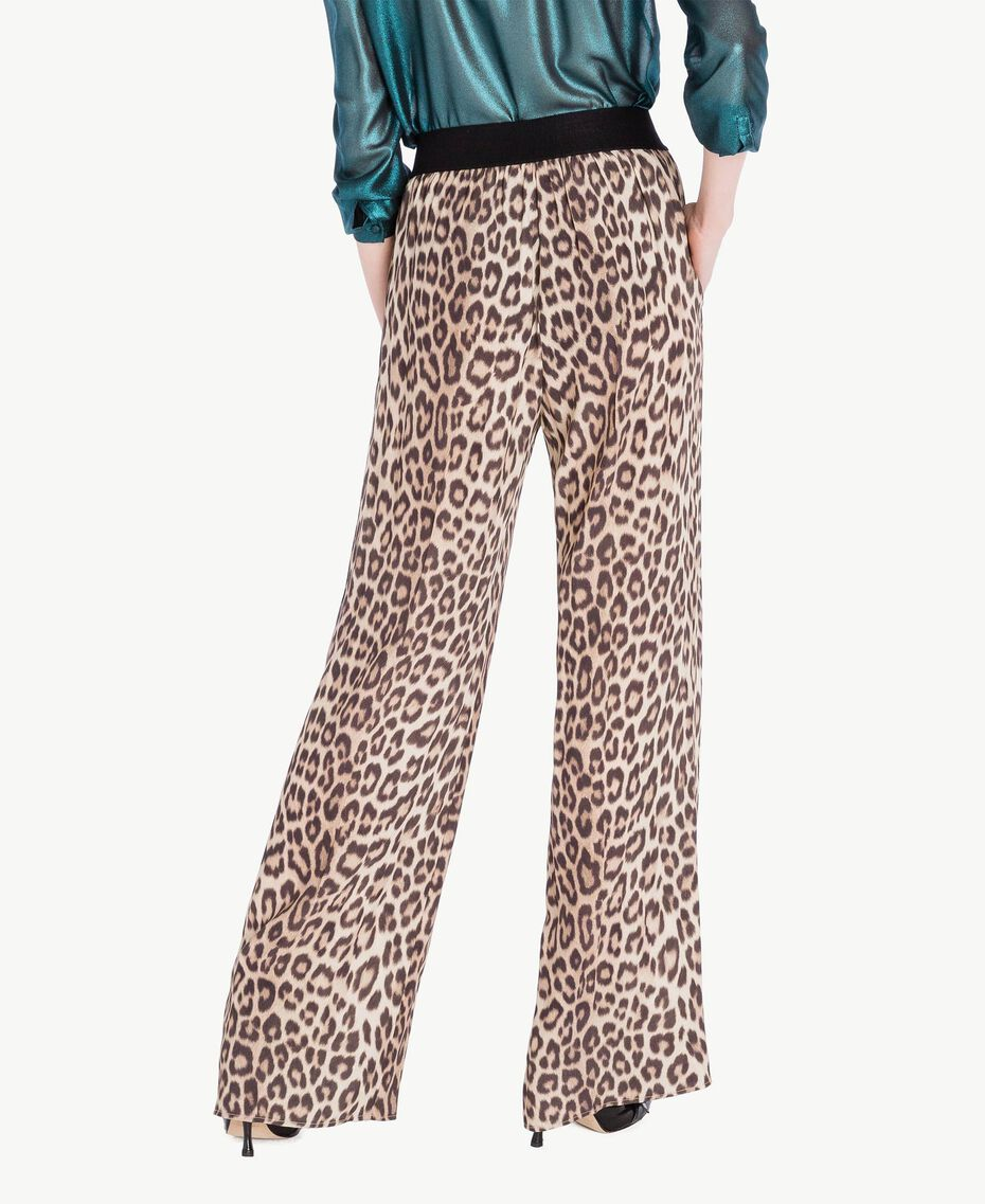 Animal print trousers Animal Print Woman PS82VC-03