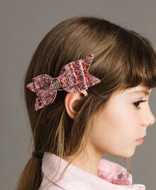 """Schleifen-Haarbrosche """"Crystal Pink"""" Kind 191GJ4999-0T"""