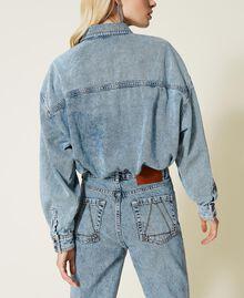 """Camicia in jeans Blu """"Denim Medio"""" Donna 212AP2391-05"""