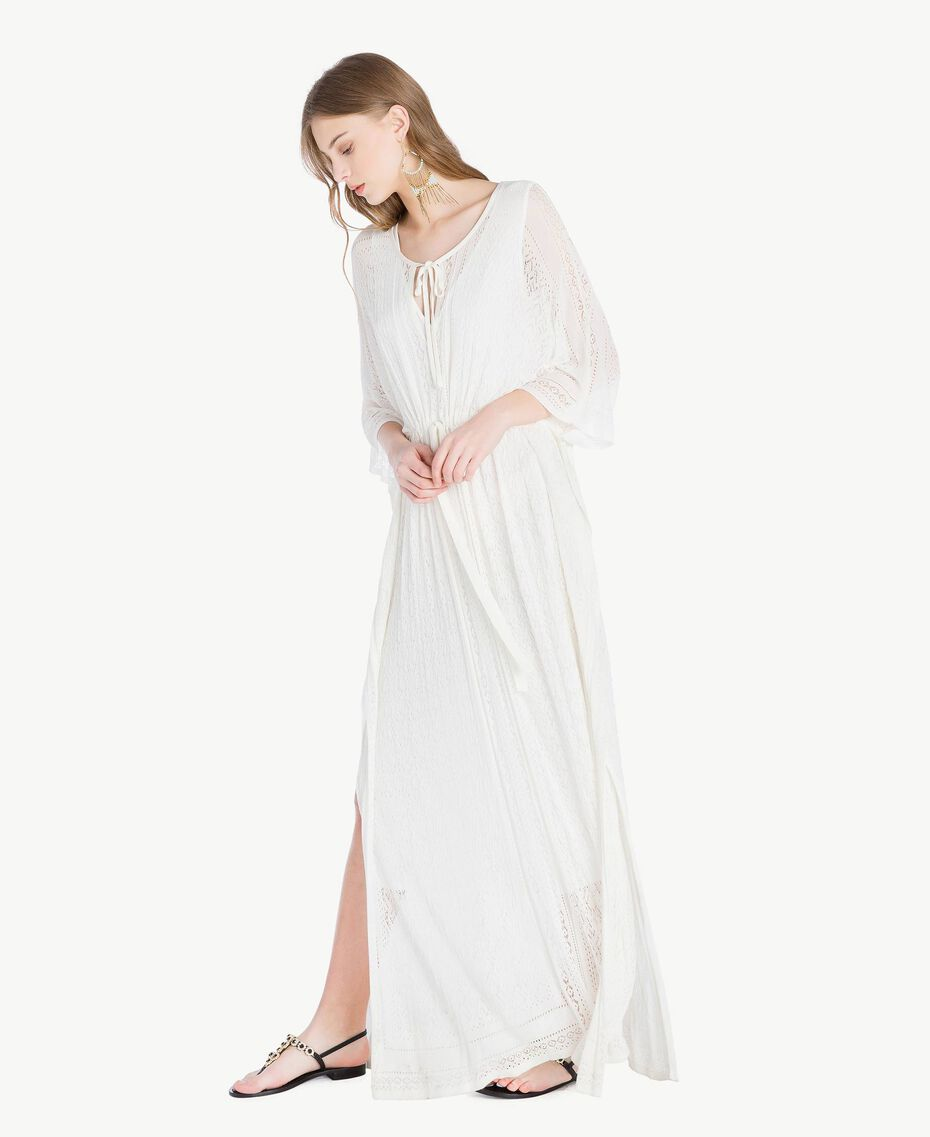 Long viscose dress Mother Of Pearl Woman TS83AC-02