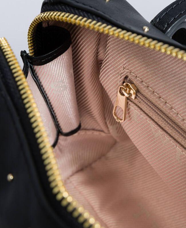 Beauty case in pelle con borchie Nero Donna AA8PA2-04