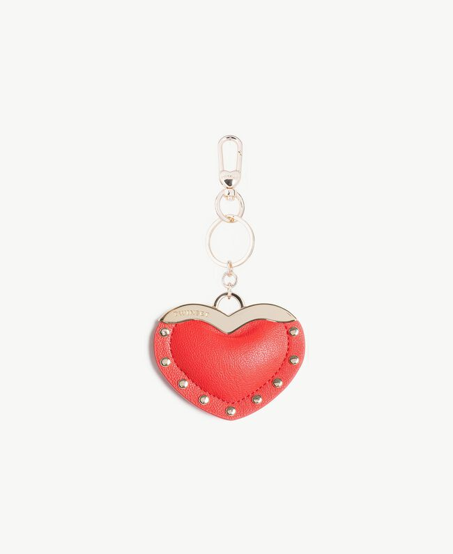Heart keychain Ruby Woman AS8PJA-01