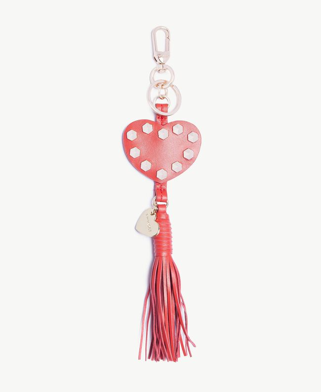 Heart keychain Ruby Woman OS8TEW-01