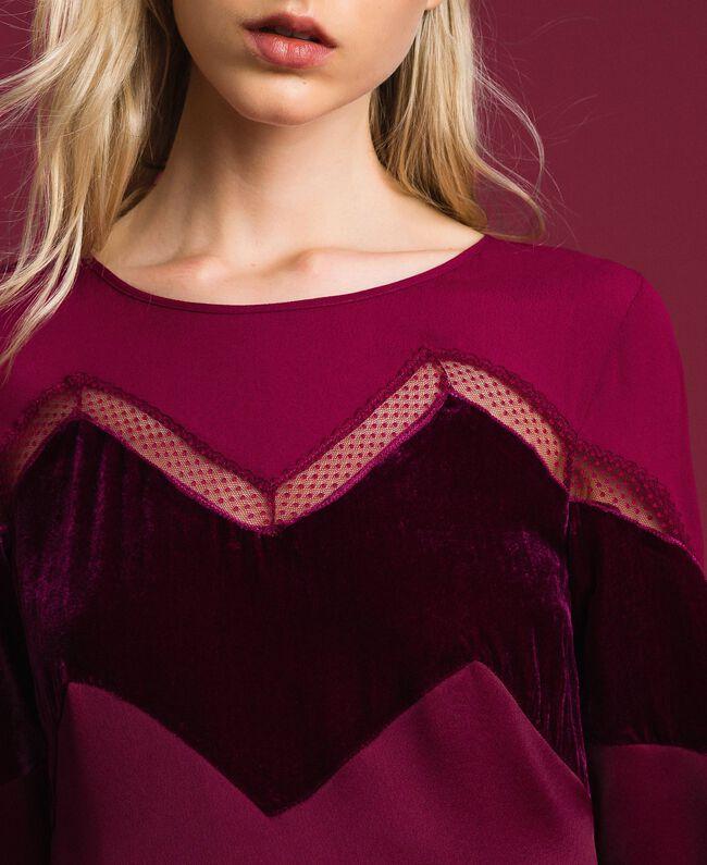 Abito con dettagli in velluto Red Velvet Donna 192TT2281-04