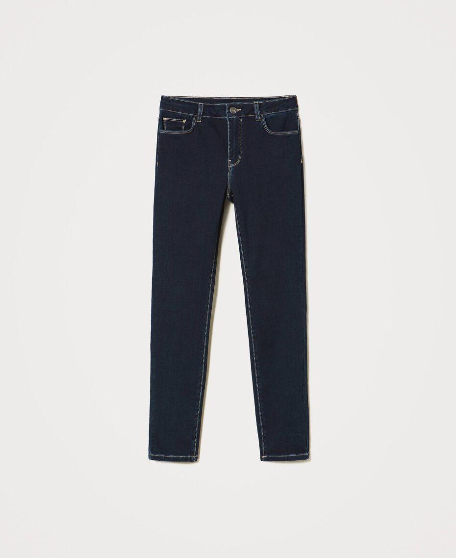 "'Vega"" skinny jeans Dark Denim Woman 211MT2383-0S"