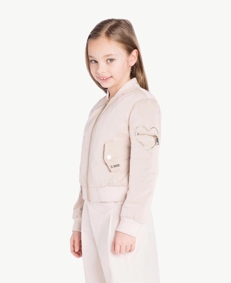 Duchess bomber jacket Bud Pink Child GS82VA-03