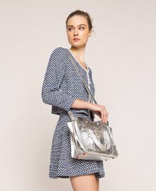 Кожаная сумка Rebel с карманом Серый Титан женщина 201TA723Z-0T