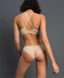 Culotte brésilienne avec nœud Rose Skin Femme LCNN77-03