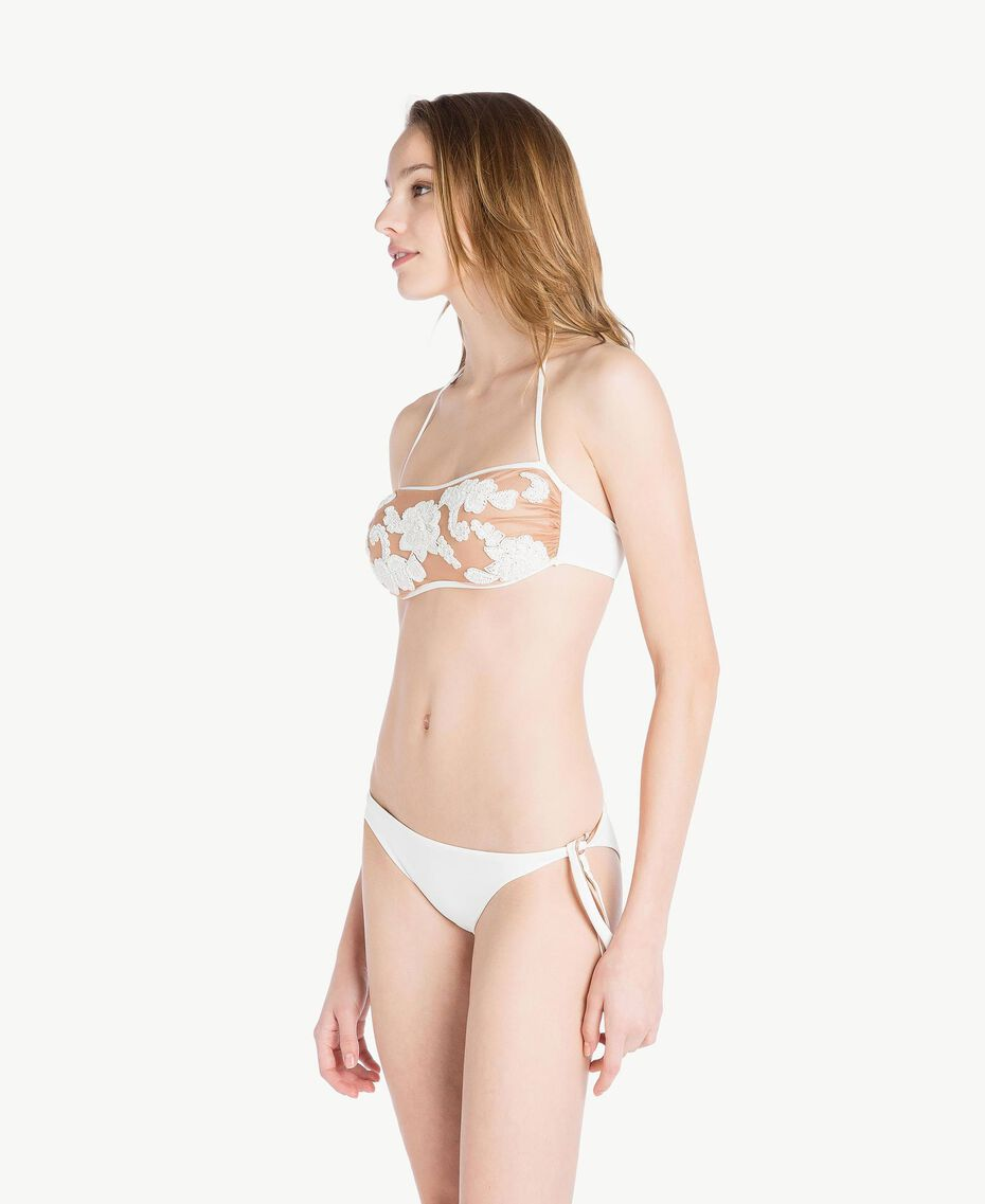 Tulle bandeau Ivory Woman MS8B11-03