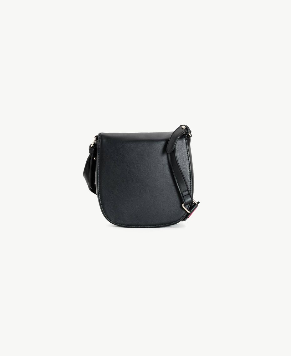 Patch shoulder bag Black Child GS87BG-03
