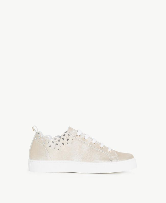 Scalloped sneakers Platinum Child HS88CQ-01