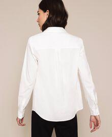 Поплиновая рубашка Blue Sky женщина 201MP2183-04