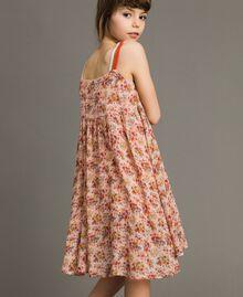 Robe à fleurs en georgette Imprimé Mini-Fleurs Enfant 191GJ2802-03