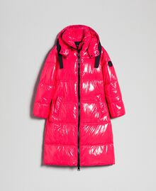 Steppmantel in Lackoptik Pink Gloss Frau 192MT2071-0S