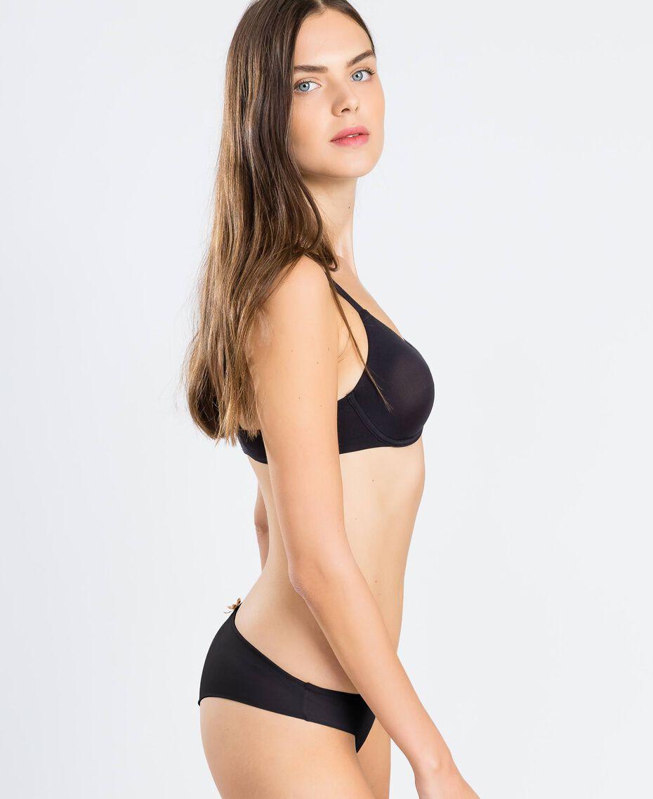 Brazilian-Slip Schwarz Frau LCNN77-02