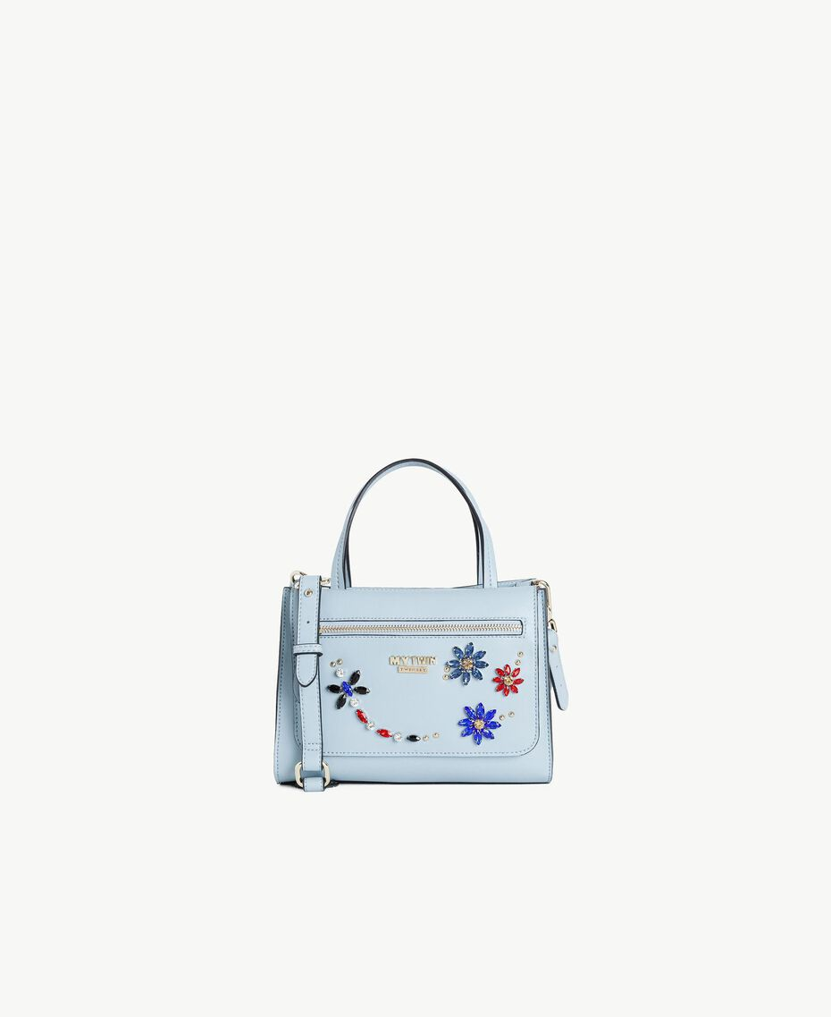 TWINSET Bag and clutch bag Baby Blue Woman RS8TB2-01