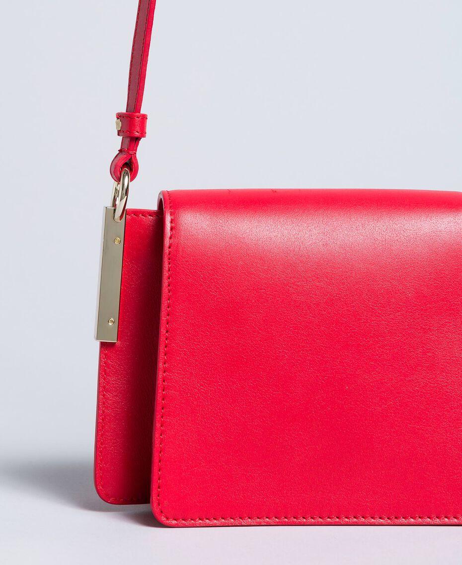 Sac à bandoulière en cuir Rouge Coquelicot Femme AA8PGB-02