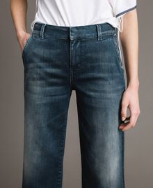 Fadeout chino jeans Denim Blue Woman 191MP2478-05